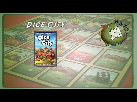 Würfel Reviews: Dice City - Ilja and Alina