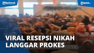 Viral Video Resepsi Nikah di Samarinda, Ibu-ibu Berjoget Tidak Pakai Masker dan Tak Jaga Jarak