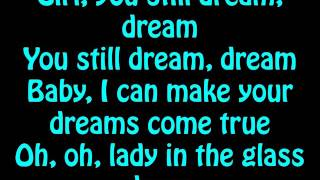 Chris Brown - Lady In A Glass Dress (Lyrics On Screen)