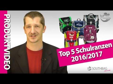 Top 5: Die besten Schulranzen der Saison 2016/2017
