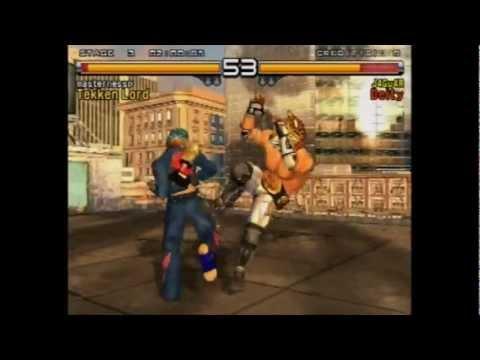 Tekken 5 | Gameplay - Hwoarang versus King | Sony