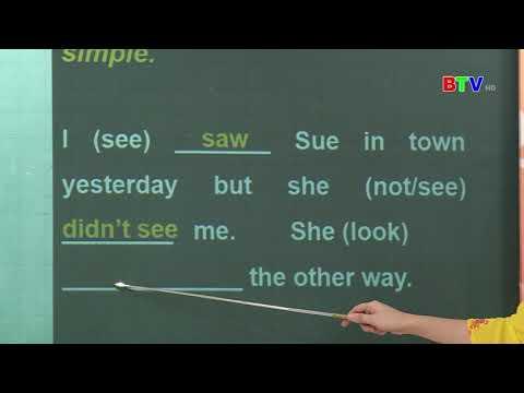 BTV Lớp 9 Môn Tiếng Anh Số 2 Các thì trong tiếng anh (NGÀY 25 3 2020)