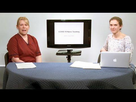NHSGGC - COVID-19 Nurse Teaching