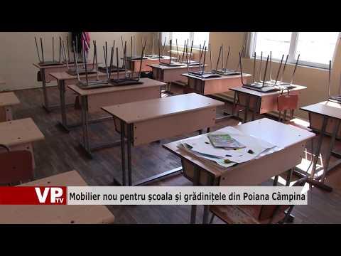 Mobilier nou pentru școala și grădinițele din Poiana Câmpina