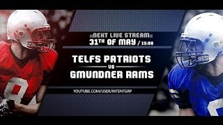 preview picture of video 'AFC Patriots Telfs VS Gmundner Rams - AF-Live'