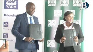Co-operative Bank of Kenya has signed a Ksh.500 million financing
