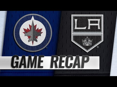 Connor records two points as Jets beat Kings, 3-2