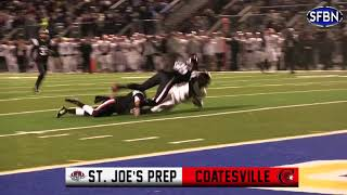 St. Joe's Prep rallies and holds on to defeat Coatesville, advance to Hershey