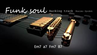FUNK / SOUL BACKING TRACK IN Em, 100 bpm