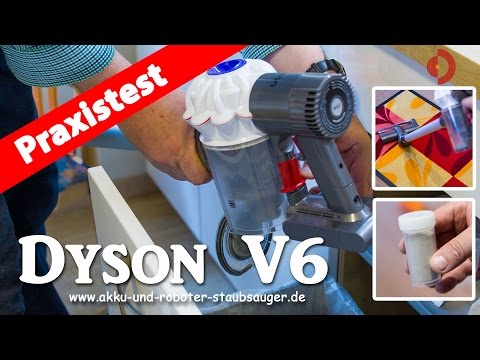 Dyson V6 der Akku-Staubsauger im Test