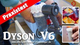 Dyson V6 der Akku-Staubsauger im Test  [Akkustaubsauger Test]