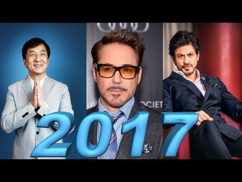 Самые высокооплачиваемые актеры мира в 2017 году