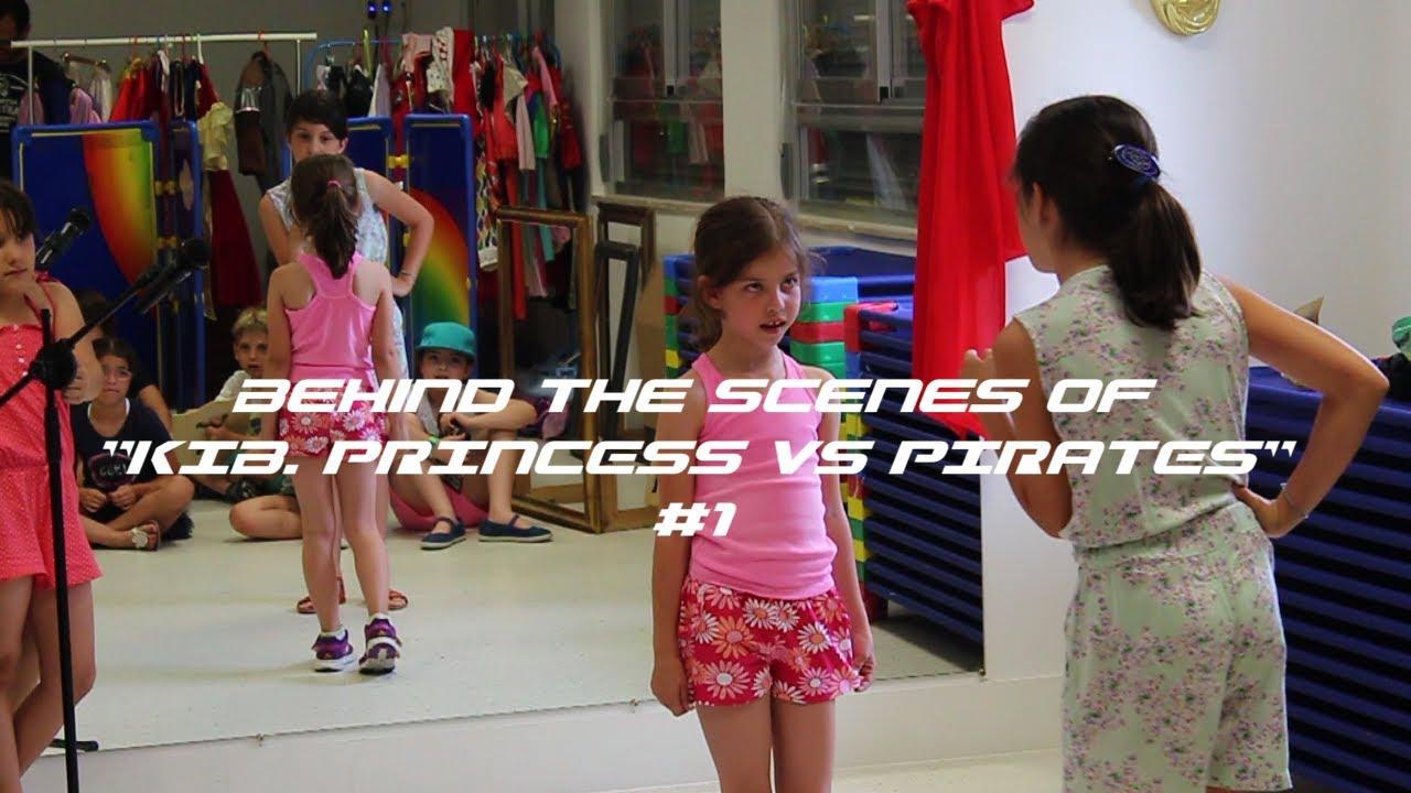 "Behind the Scenes: ""KIB. Princess VS Pirates"" #1"