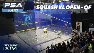 Squash: 2018 Squash XL Open - Quarter Finals