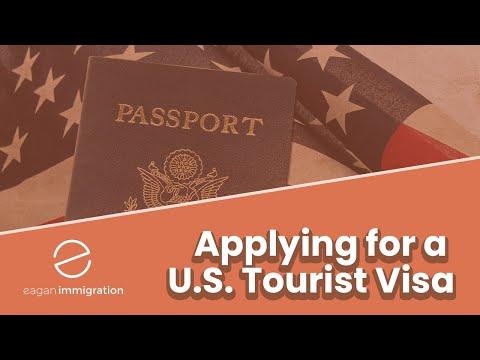 Applying for a U.S. Tourist Visa