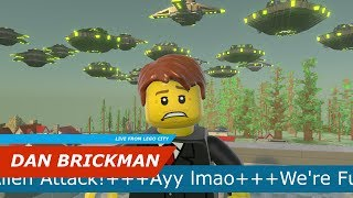 Ayy Lmao: Invasion - A Lego Worlds Shortfilm [Free UFO Download]