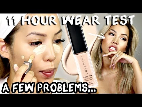 BRAND NEW | COVER FX POWER PLAY CONCEALER | WEAR TEST REVIEW