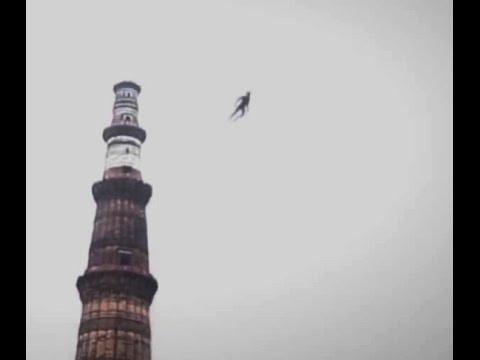 La creatura volante avvistata nei cieli di Delhi (India)
