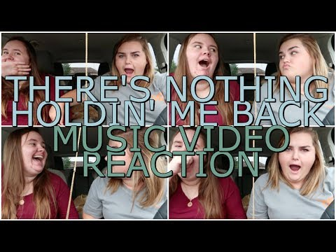 THERE'S NOTHING HOLDIN' ME BACK - SHAWN MENDES MUSIC VIDEO | REACTION
