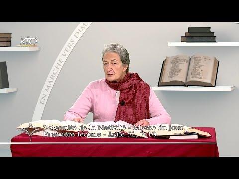 Solennité de la Nativité (messe du jour) - 1re lecture