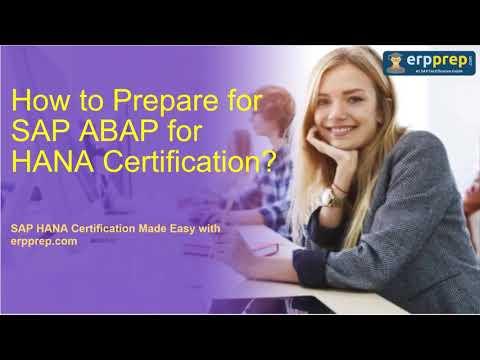 How to Prepare for SAP ABAP for HANA (E_HANAAW_17 ...