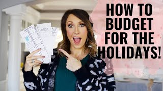 Budgeting for the Holidays - The EASY way!