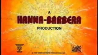 Hanna-Barbera Swirling Star (1979) with Time Warner Byline