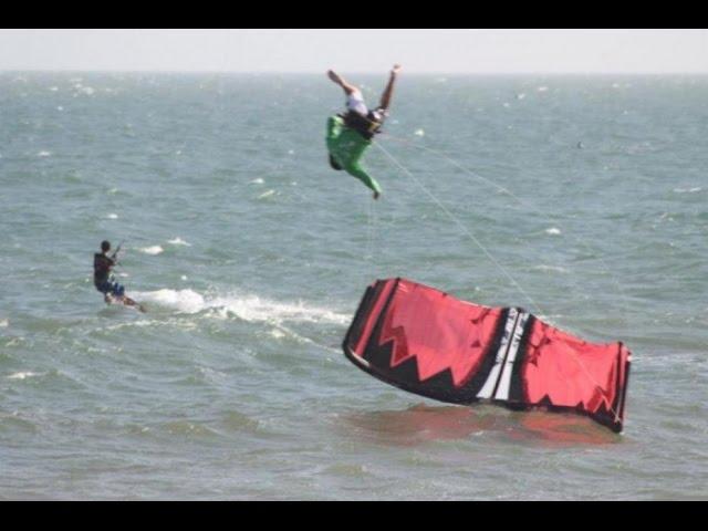 Kite Surf Crash Fail Compilation 2014