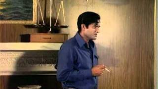 Joy Mukherjee Telling His Sad Story To Zeb Rahman  Hindi Thriller Aag Aur Daag