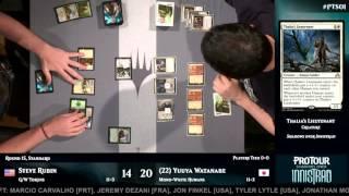 Pro Tour Shadows over Innistrad Round 15 (Standard): Steve Rubin vs. Yuuya Watanabe