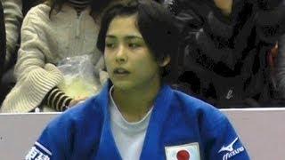 出口クリスタvsシルバBRA女子57kg級3位決定戦柔道グランドスラム東京2013.11.29