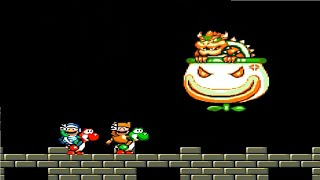 Super Mario World 2021 HD: World 9: Bowser's Shadow Land Part 2