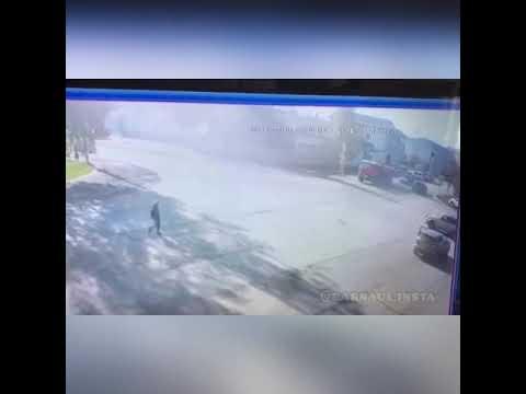 Момент ДТП в Тальменке, камаз сбил женщину