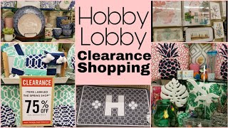 Hobby Lobby 75% Off Clearance • Shop With Me
