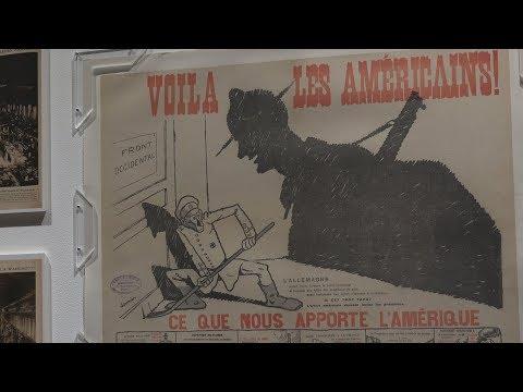 1917. Voilà les Américains !