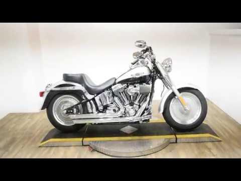 2003 Harley-Davidson FLSTF/FLSTFI Fat Boy® in Wauconda, Illinois