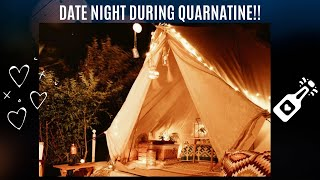 Quarantine Date Night/Anniversary Idea!