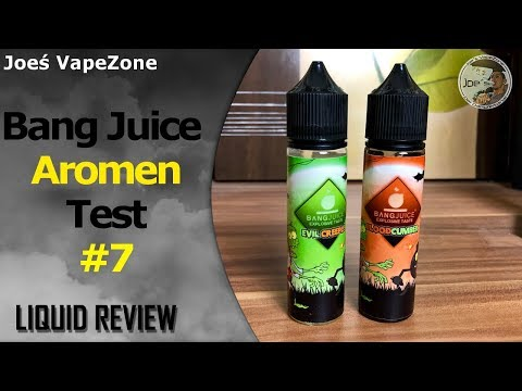 YouTube Video zu Bang Juice Bloodcumber Longfill Liquid 15 ml für 60 ml