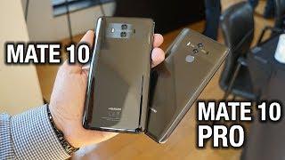 Meet the Huawei Mate 10 and Huawei Mate 10 Pro!