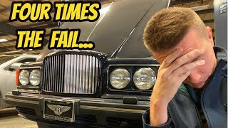 I Bought 4 Unfixable Luxury Sedans Because I Never Learn From My Mistakes (Fleet Update)