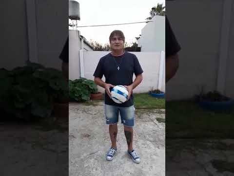 El futbolista Silvio Maine nos envía un video desde San Jerónimo Norte