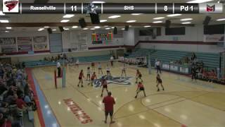 Volleyball vs. Russellville 8-23-18