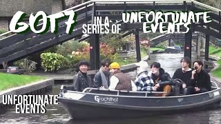 got7 in a series of unfortunate events (another try not to laugh challenge w/ got7)