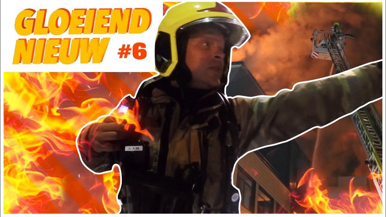 Gloeiend Nieuw afl. 6 🔥 Grote brand Groente en Fruitdistributeur | Als de Brandweer