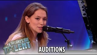 Canadian Girl Tara Jamieson AMAZES With A Flawless Performance! | Ireland's Got Talent 2019