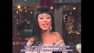 Christina Aguilera - Entrevista & Walk Away en Show de David Letterman 2004 (Subtítulos español)