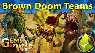 Gems of War: Event Objectives | Version 4.9 SOON and Brown Doom