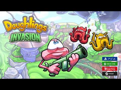Doughlings: Invasion - Gameplay Trailer thumbnail