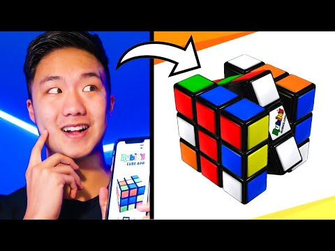 THE NEW RUBIK'S APP IS ACTUALLY... AMAZING??