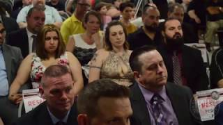 New England pro wrestling Hall of Fame 2018 in it`s entirety